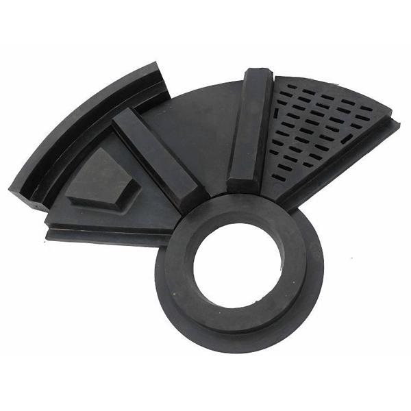自磨机(半自磨)橡胶衬板