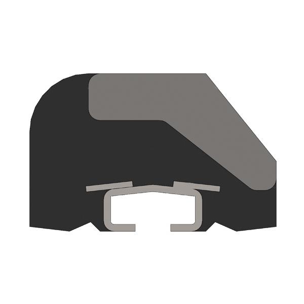 钢胶复合合金橡胶衬板